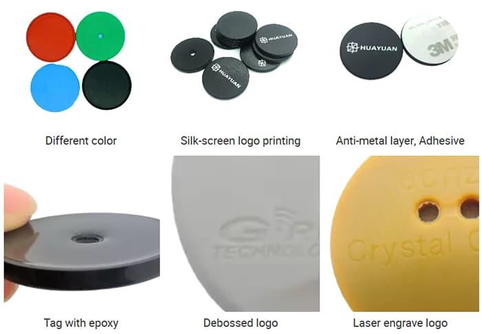 Crafts des RFID Münz Token Tags