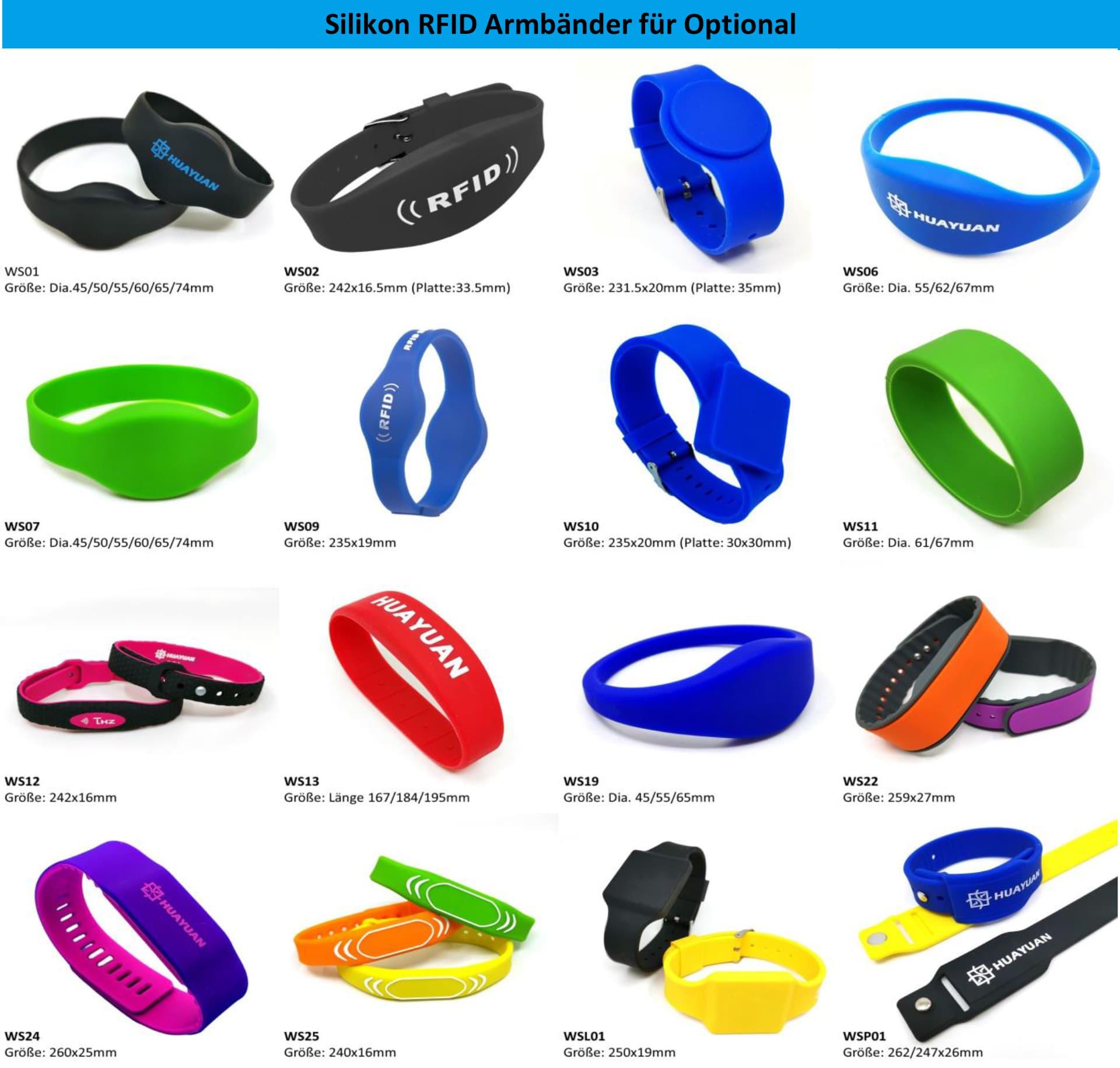 Silikon RFID Armbänder