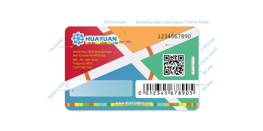 Rfid Karte.125khz Rfid Karte Huayuan Rfid Professionell Manufaktur