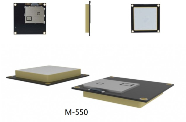 Produktansicht des integrierten RFID UHF Lesermoduls