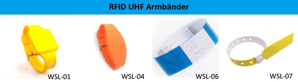 RFID RAIN Armbänder