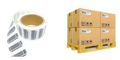 RFID Papier Tag for Pallet Tagging